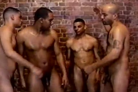 handsome And shaggy homo anal invasion In The Shower