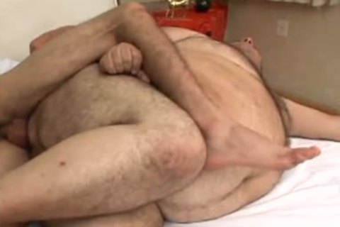 chubby lad sucks all the sex cum out