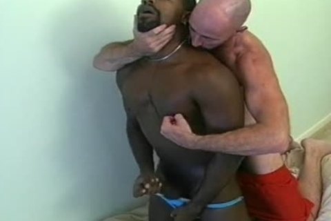 Two wicked amateur homo allies Play With Their cocks
