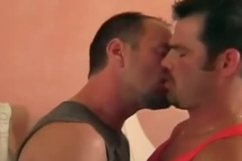 Fervent Coition With kinky bushy Daddy Bears With Their Morning