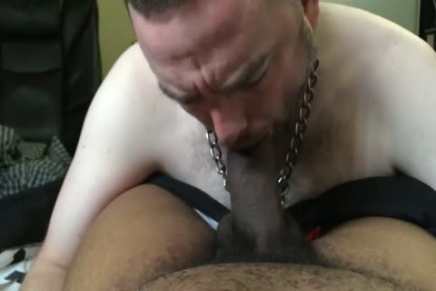 Pup Parker sucking & Throating master Mac's monstrous darksome weenie