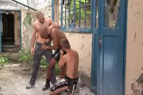 lovely Outdoor threesome