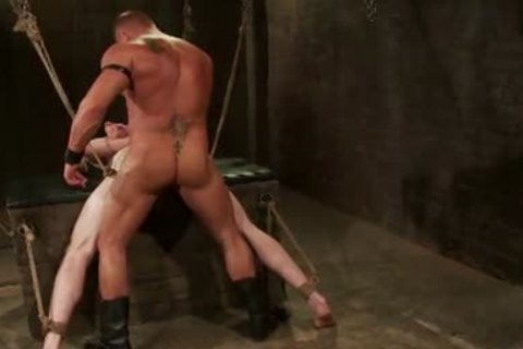 First-Timer Ben wants Being Teased And fastened By Leather dom