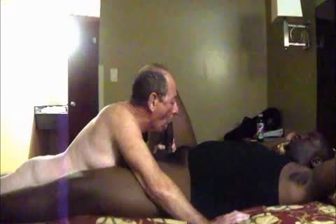 Hung darksome Bear slams And Seeds His appealing White Daddy, Hard, unfathomable And each Way Possible