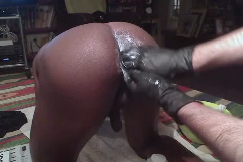 Blackdanus, An Incredibly fashionable young darksome lad Has A Very Accomodating (and juicy) wazoo, Used To Dildos, But that dude not ever Took A Fist. This Is Our First Session. Hand Not Entirely Inserted, But not quite There. Next Time, I'm Sure