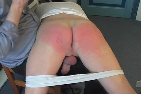 Nico Goes OTK And receives A Firm Hand spanking