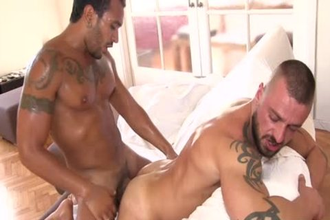 Lucio Saints butt Is penetrated By David Avila