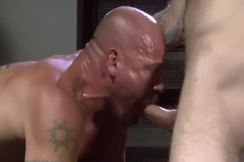raw Muscle - Scene 1 - Factory clip scene