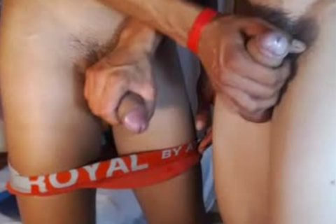 two fashionable Romanian boyz bunch-sex, palatable Blowjobs And sex cream On web camera