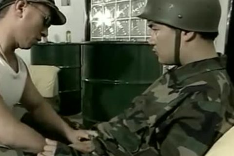 asian men In Uniform Toying