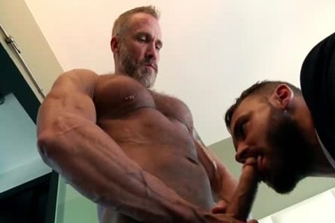 Dallas metallic daddy Hunk Super Macho bushy