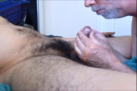 This shlong Look Familiar, Gentle Tubers?  It Belongs To My Returning Mexican Bro V. And It Was Ever So avid To acquire Pampered By My Palpitating Palate.  Salivating On And sucking Those bushy Balls And That Broad, Uncut 10-Pounder Transported Me To