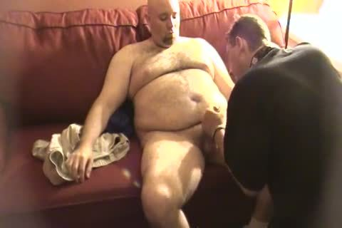 My Daddy Met This Furry Trucker Daddy Who Wanted To Work Me Over. No sex cream discharged But Still moist palatable.