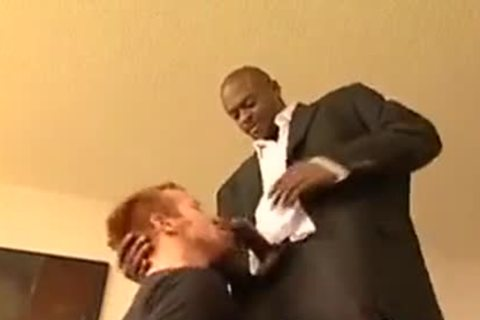 Diesel Roughs Up A Redhead darksome