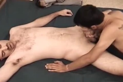 Amateurs Gary And Brad group-sex