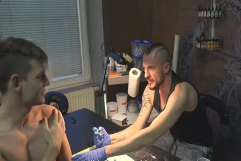 palatable Sex For cash In A Tattoo Studio