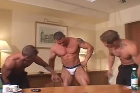 three greater quantity sexy Muscle Posers