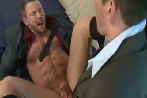 wicked Tool Gulping And Bottom Riding Businessmen.