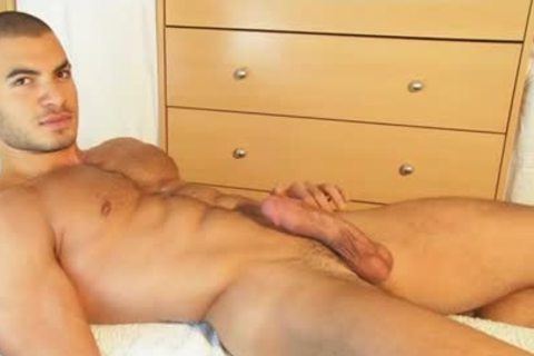 My str8 Neighbour Made A Porn: Watch His thick penis Serviced By A boy!