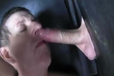 Super monstrous Uncut wang straight Aussie Max get's Sucked Off At The Gloryhole.