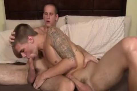 Buff And homo twinks Jacques Lavere pokes Trent