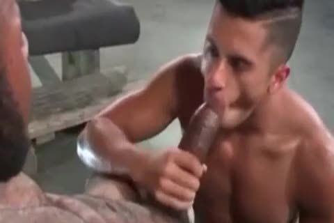 A Very filthy Latino homosexual chap Likes Some coarse Greek From A enormous African Shaft