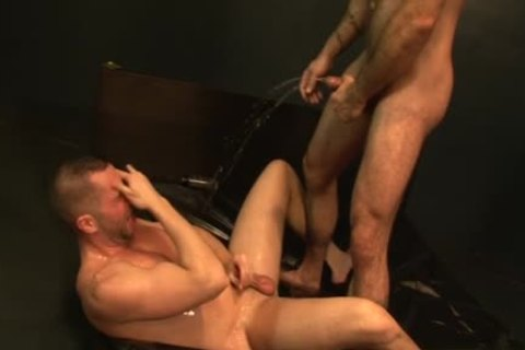 gigantic 10-Pounder gay piss With sex cream flow