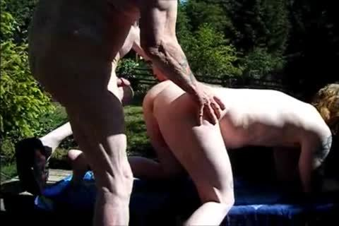young Redhead bareback With grand-dad