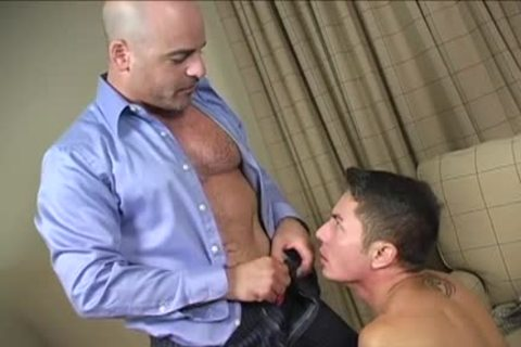 hairy shlong spanking And Facial