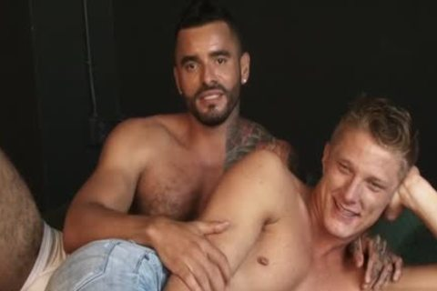 large cock homosexual anal sex And ball cream flow