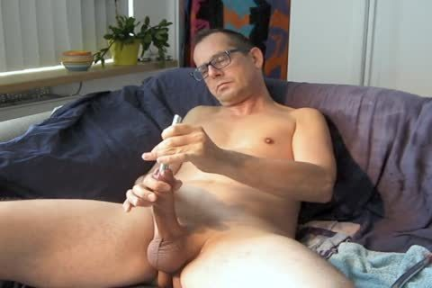 Pissing cock, 2nd sperm And Love To 'hit' The cock