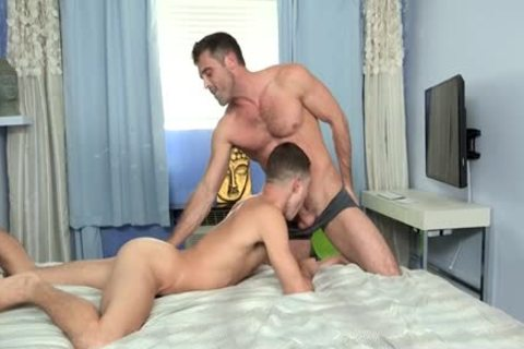 large rod gay painfully anal stab With ball cream flow