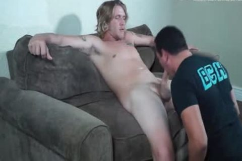 blond Str8boy Sucked Off