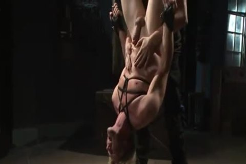 sexy Cop bound & Tormented