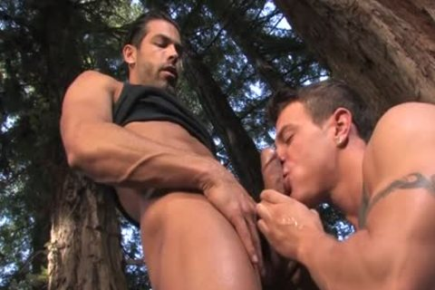 giant dong homo Outdoor Sex And cumshot