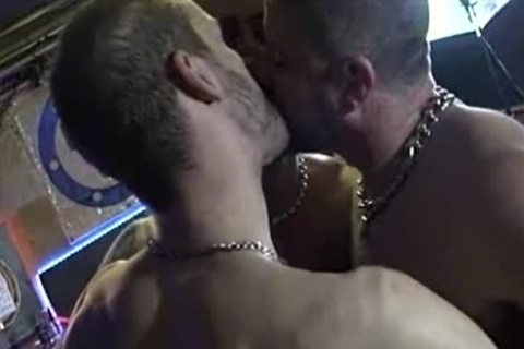 3some In A homosexual Bar