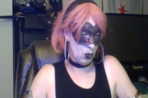 attractive Dancing Goth CD cam Show (part two Of two)