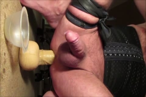 Crossdresser Balls unfathomable 13 Inch thick sex toy Prostate Milking