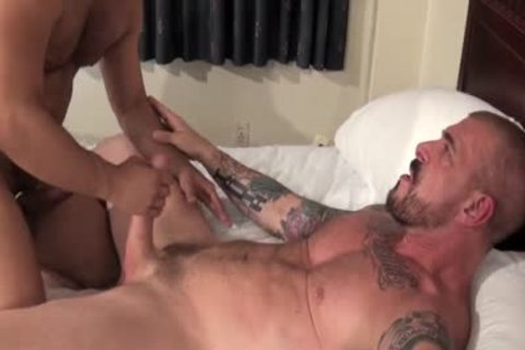 Rocco Steele Has A bare anal banging