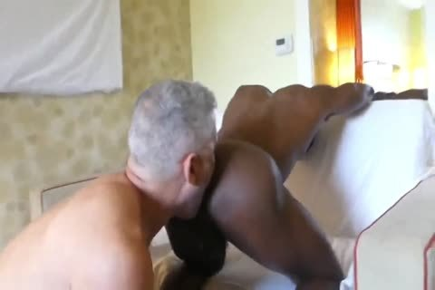 Hung White dad taut black anal
