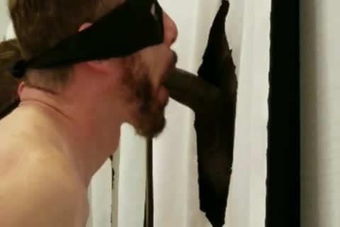 biggest BBC With large Hanging Balls Stops By My Gloryhole