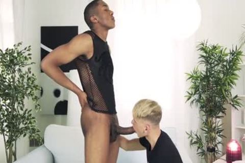 Ray Mannix Takes Tony X's gigantic darksome penis