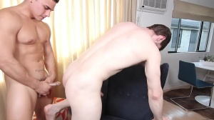 The Married Bottom - Dennis West, Topher Di Maggio ass Hump