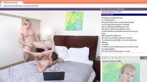 The Chat Room - Cameron Foster, Brandon Moore anal job