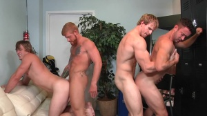 Swingers - Cameron Foster & Bennett Anthony butthole nail