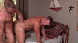 Son exchange - Dirk Caber and Luke Adams pooper Hump