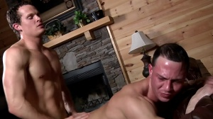 Aaron's First Time - Aaron Anderson, Liam Rosso ass Hump