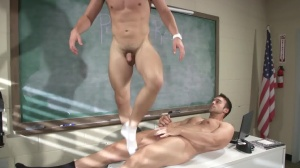 Hazing Bust - Rocco Reed and Joey Cooper butthole plow