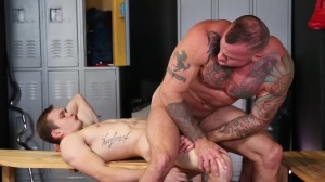 Confessions Of A Straight chap - Sean Duran & Jackson Traynor anal pound