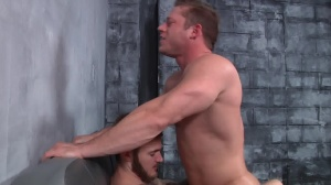 First Time Bottom - Christian Wilde with Joey Carter butthole Hump